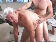 Grandpa still likes a good cock in her ass