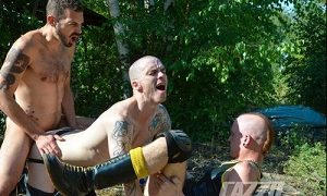 AJ Alexander, Koldo Goran, & Kieron Knight XXX