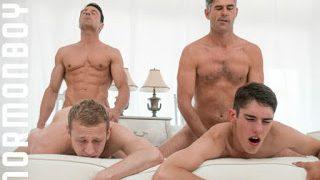Elder Holland in gay group sex