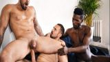 Damien Crosse 3some BLACK GAY