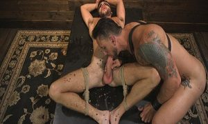 Horny Sub is Tormented  with Scott De Marco, Dakota Rivers