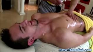 Gay massage oil porn
