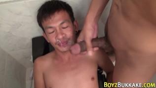 Fetish asian piss and cum