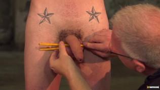 Master Sebastian Kane ties up twink for kinky domination